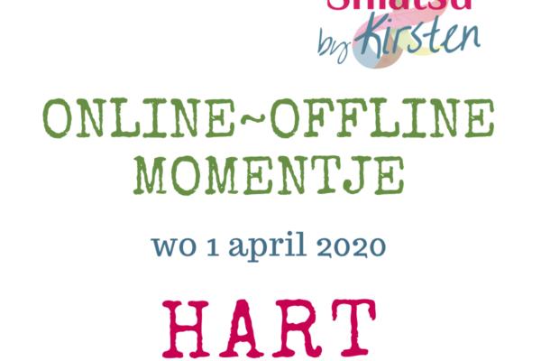 Hart ~ 1 april 2020