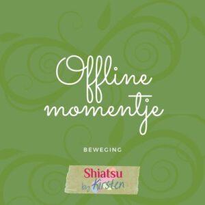 Offline momentje